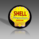SHELL PREMIUM GAS METAL SIGN