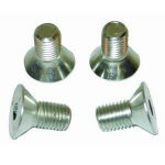 Water Pump Pulley Bolt Kit (4) - Steel