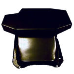 Steel Champion Style Oil Pan SBC Black