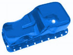 Blue Oil Pan  1965-87 Ford 260-302