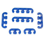 Blue Deluxe Wire Divider Set
