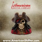 Pirate Jack Skeleton Shift Knob and Topper