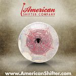 Clear Spider Shift Knob with Metal Flake