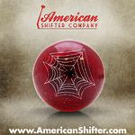 Red Spider Shift Knob with Metal Flake
