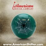 Green Spider Shift Knob with Metal Flake