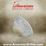 Clear with Sparkle Retro Shift Knob with Metal Flake