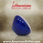 Clear Blue with Sparkle Retro Shift Knob with Metal Flake