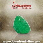 Clear Green with Sparkle Retro Shift Knob with Metal Flake