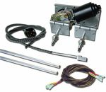 Heavy Duty Power Windshield Wiper Kit With Switch And Harness